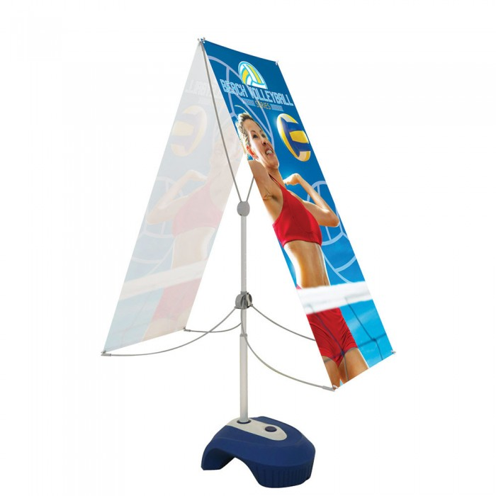 Zephyr Outdoor Banner Stand Graphic Package