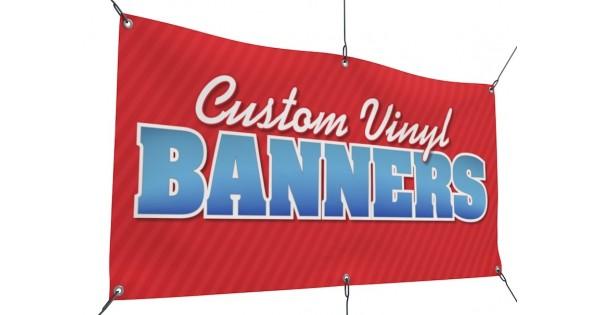 3/' x 21/' Custom Vinyl Banner 13oz Full Color Free Basic Design Included rolled